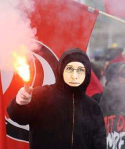 Antifa-Fee Miriam Heigl