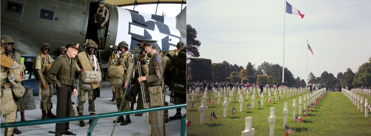 American D-day tour