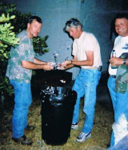 Cleaning the Dove -- Greg and Danny and Kenny