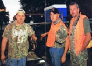 Avon Park Bombing Range -- Bert, Gene and Greg