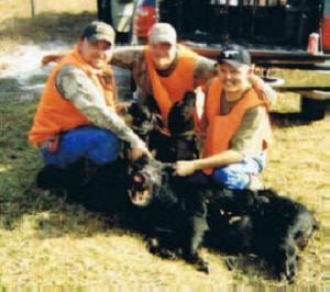 Avon Park Bombing Range -- Bert, Matt and Gene -- Dogs -- Badger and Sadie
