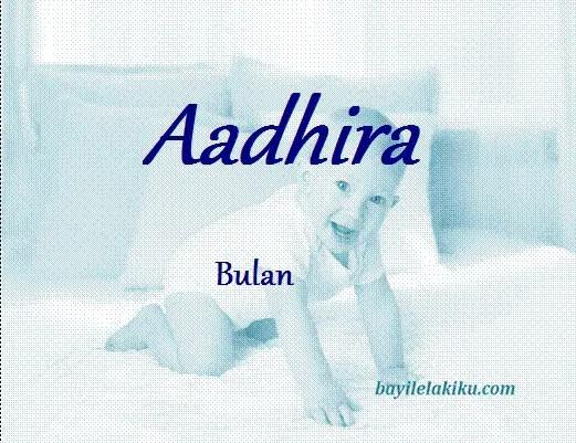 arti nama Aadhira