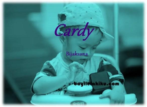 arti nama cardy
