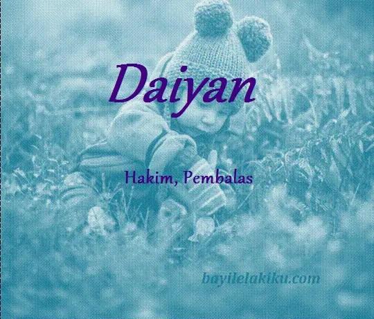arti nama daiyan
