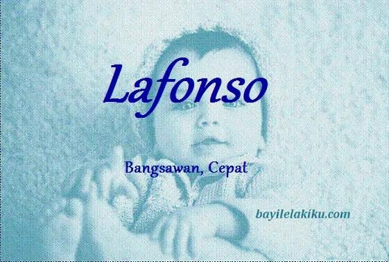 arti nama lafonso