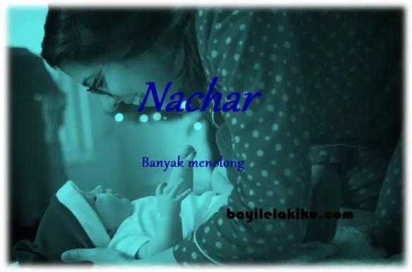 arti nama nachar
