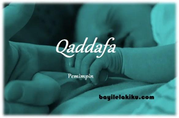 arti nama qaddafa