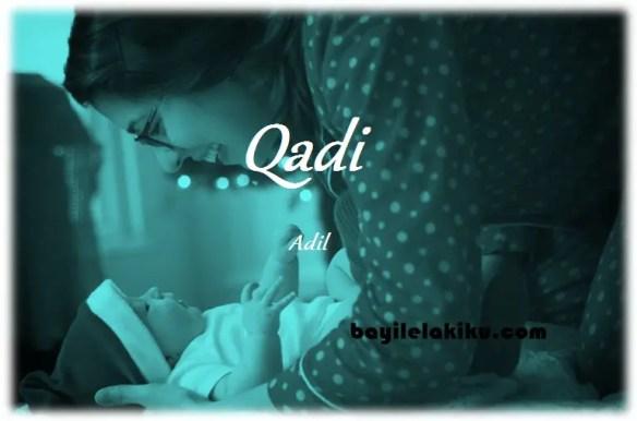 arti nama qadi