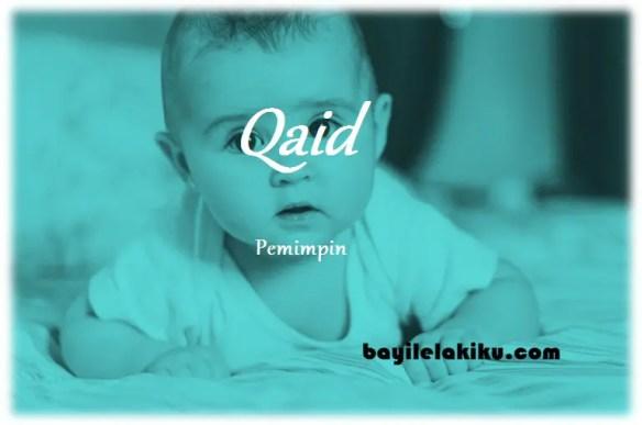 arti nama qaid