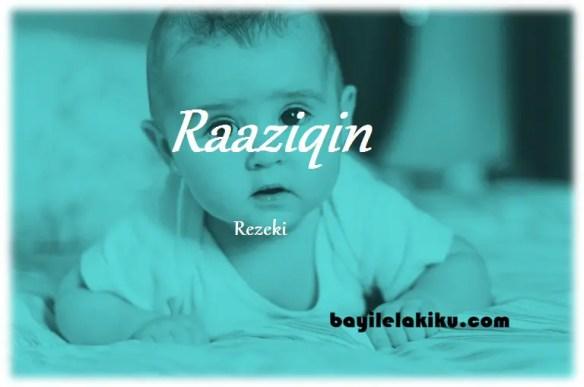 arti nama raaziqin