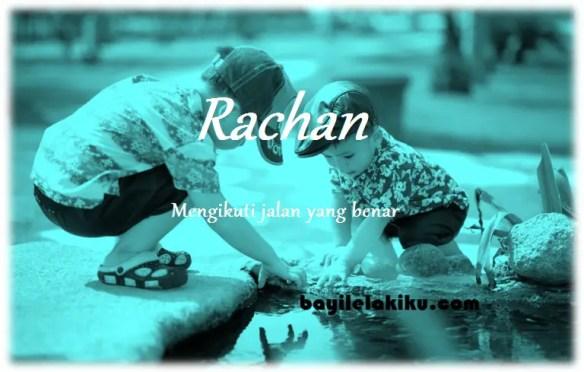arti nama rachan
