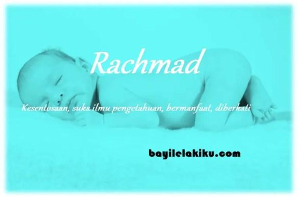 arti nama rachmad