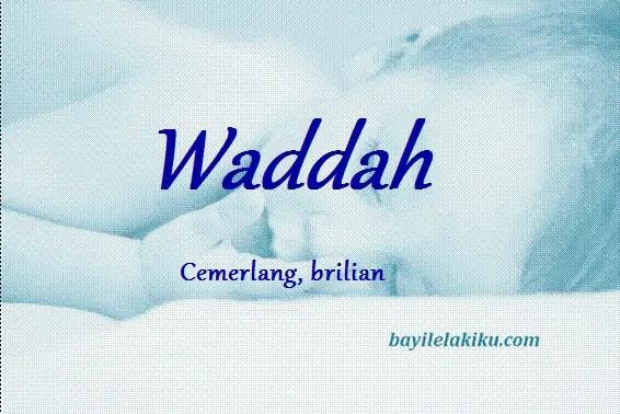 arti nama waddah