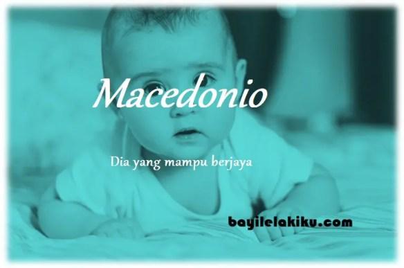 arti nama Macedonio