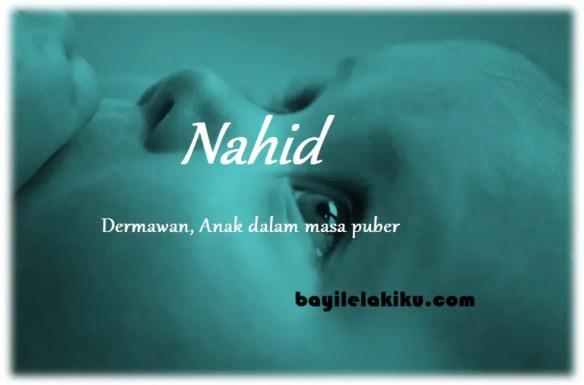 arti nama Nahid