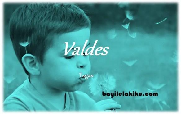 arti nama Valdes