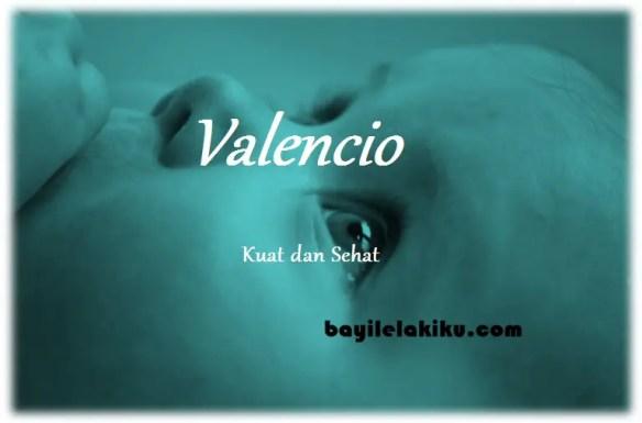arti nama Valencio