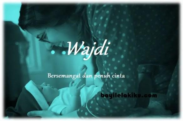 arti nama Wajdi
