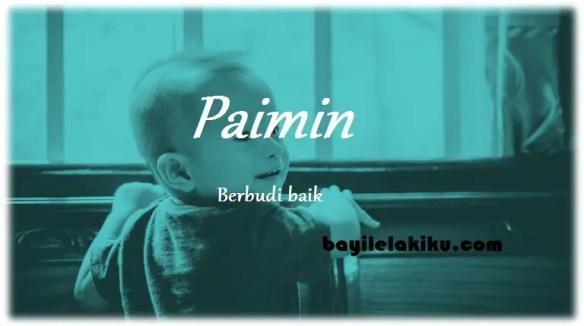 arti nama paimin