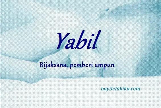 arti nama yabil