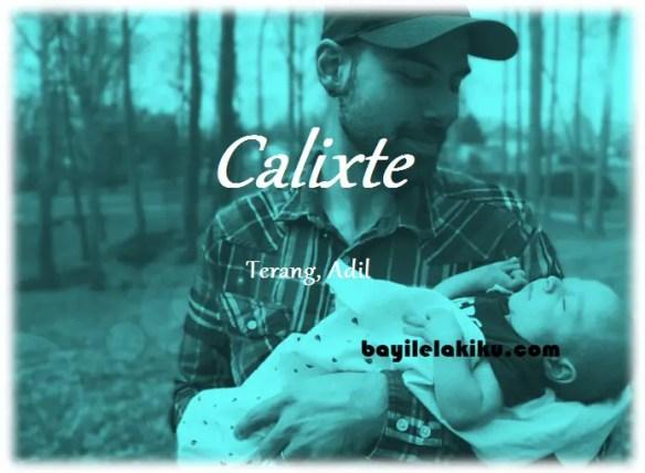 arti nama Calixte