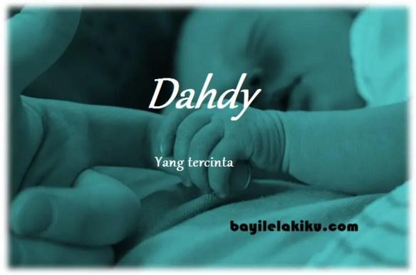 arti nama Dahdy
