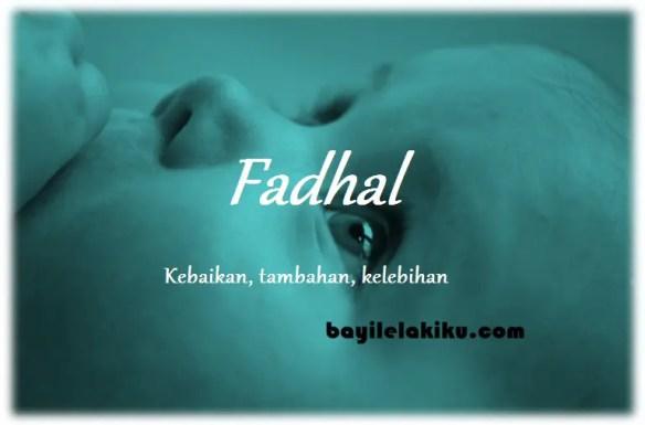 arti nama Fadhal