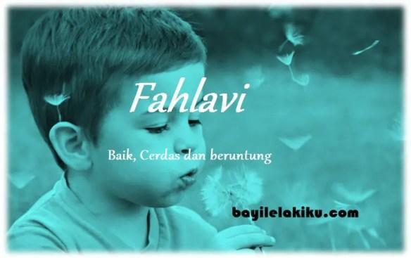 arti nama Fahlavi