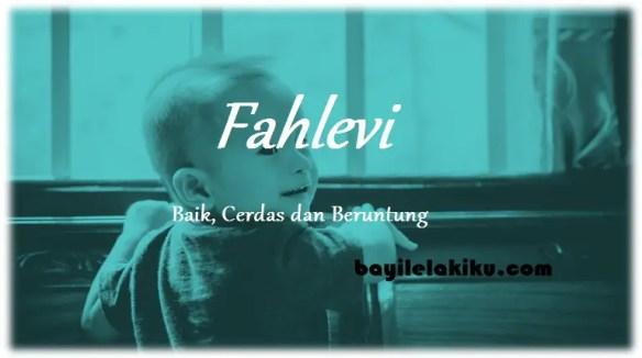 arti nama Fahlevi