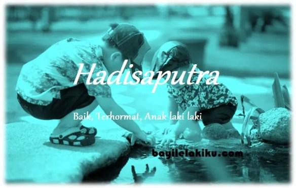 arti nama Hadisaputra
