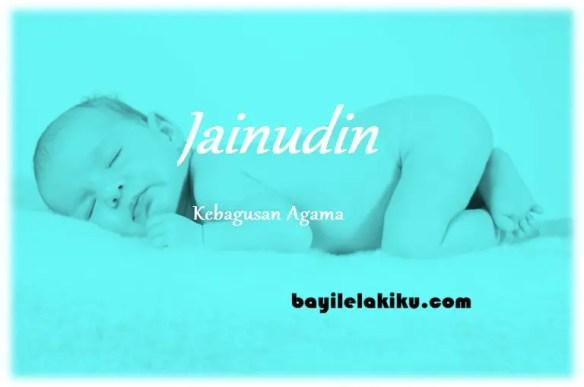 arti nama Jainudin