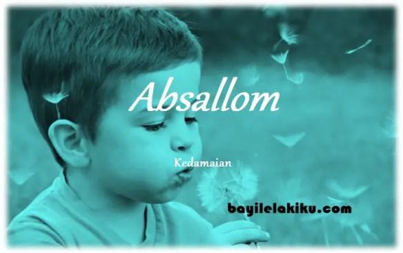 arti nama Absallom