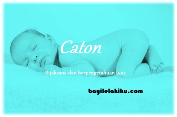 arti nama Caton