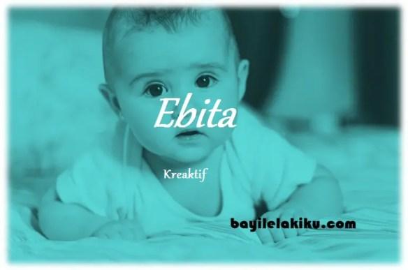 arti nama Ebita