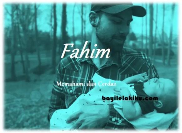 arti nama Fahim