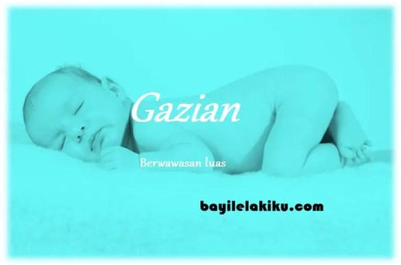 arti nama Gazian