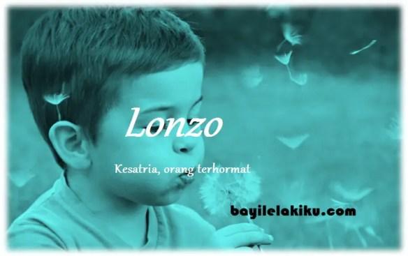 arti nama Lonzo