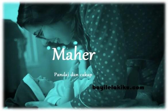 arti nama Maher