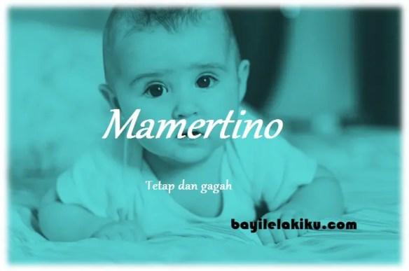 arti nama Mamertino