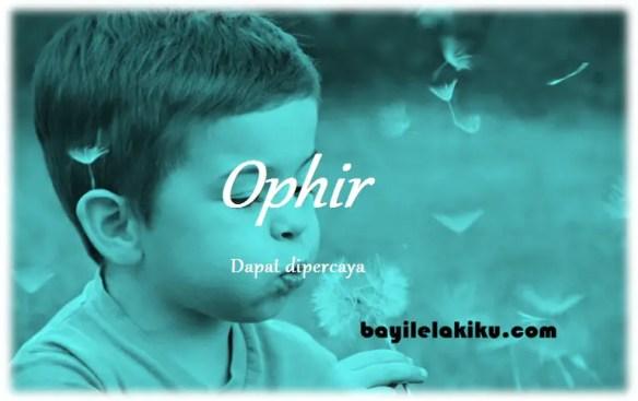 arti nama Ophir