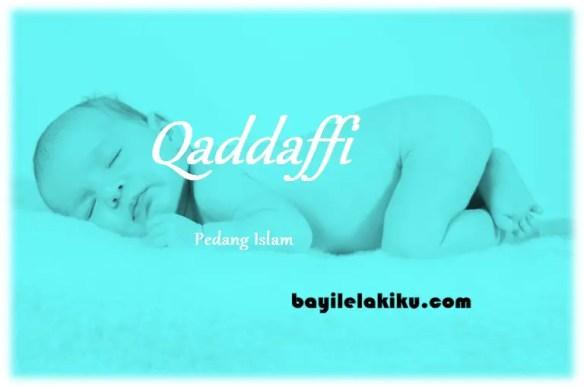 arti nama Qaddaffi