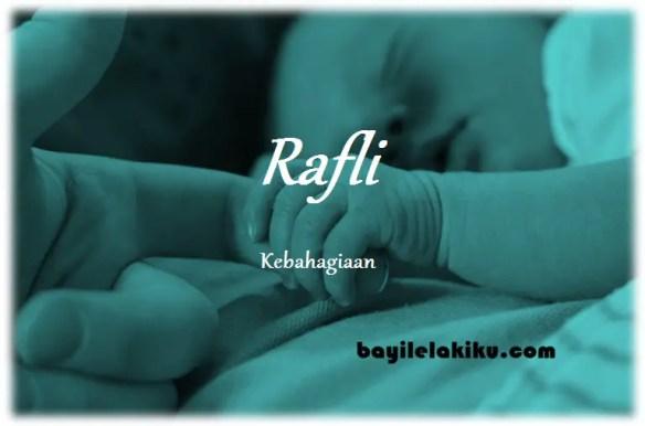 arti nama Rafli