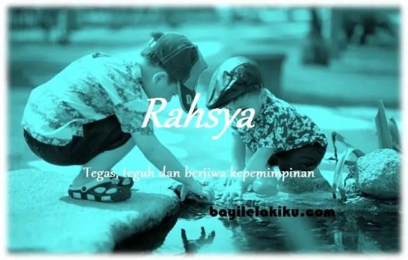 arti nama Rahsya