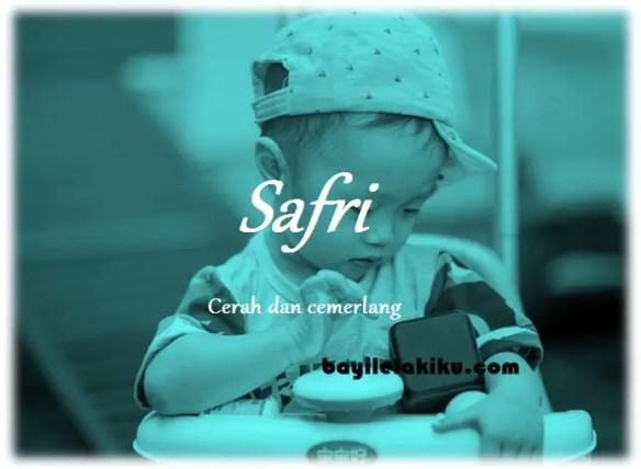 arti nama Safri