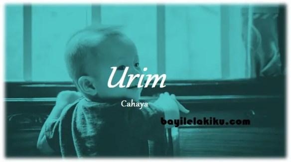 arti nama Urim