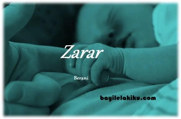 arti nama Zarar