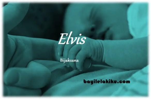 arti nama Elvis
