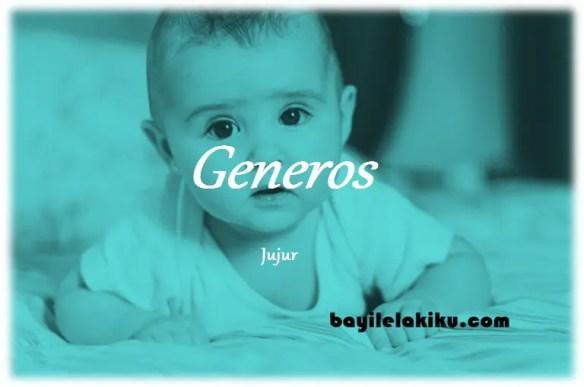 arti nama Generos