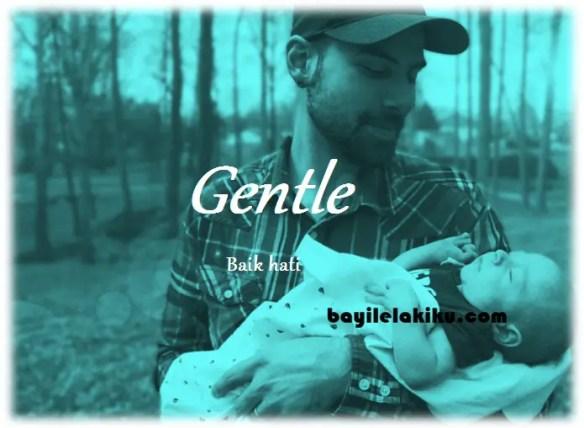 arti nama Gentle