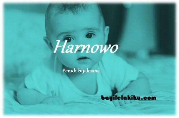 arti nama Harnowo